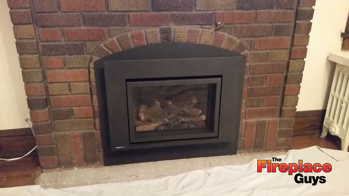 fireplace gas insert installation cost fireplace design