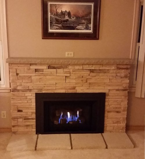 Brass to Class fireplaces after
