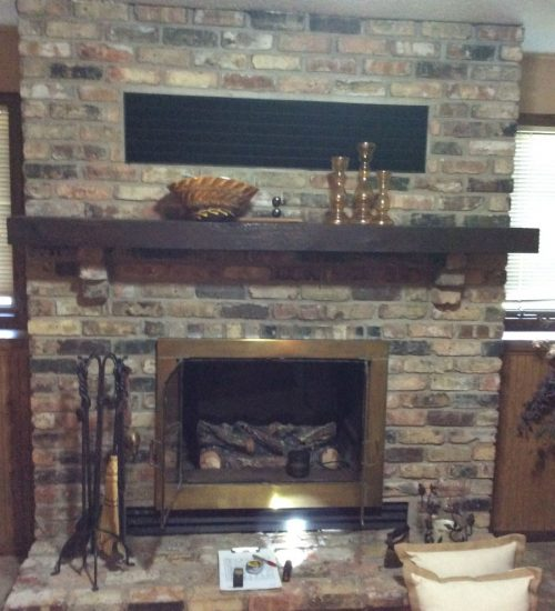 Easily converted gas fireplace conversion in mn