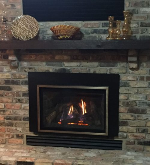 Easily converted gas fireplace conversion in mn after