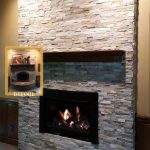 Massive Renewal Stone fireplace insert custom mantel