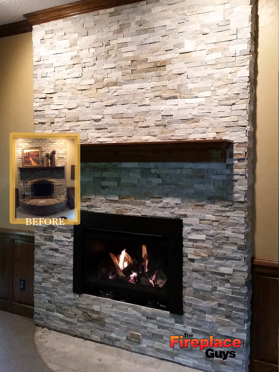 stone fireplace insert home design inspirations