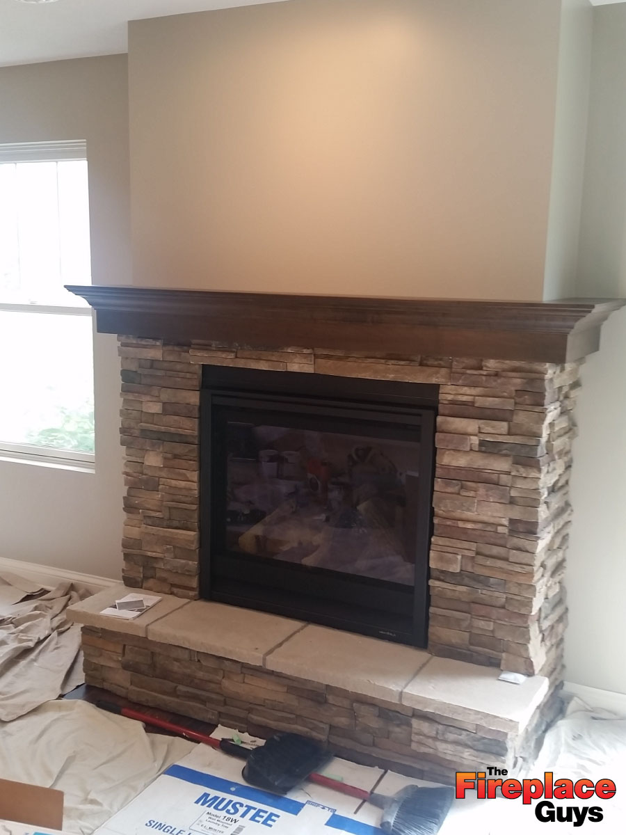 Wrap Around Mantel The Fireplace Guys