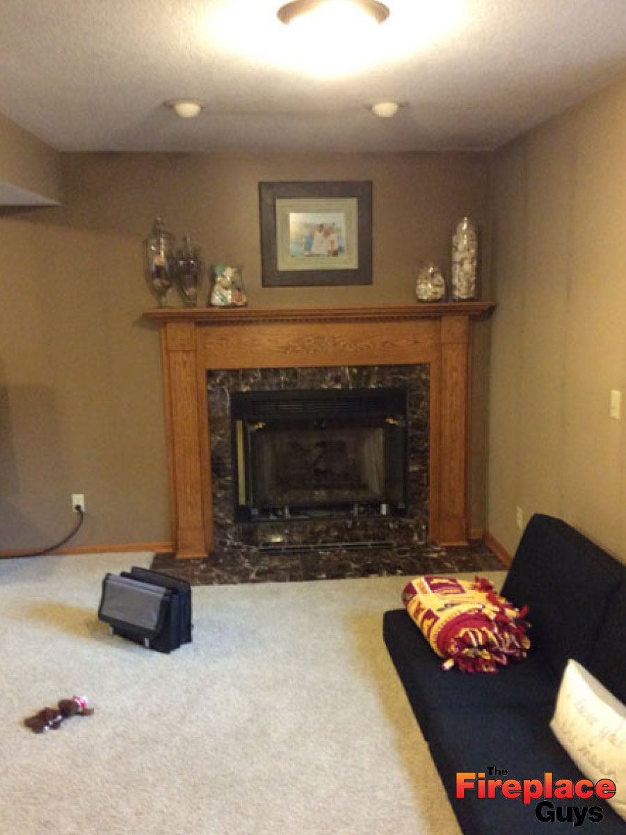 Floor To Ceiling Stone The Fireplace Guys