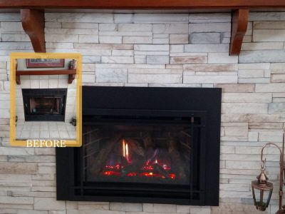 minimal facelift fireplace update ba