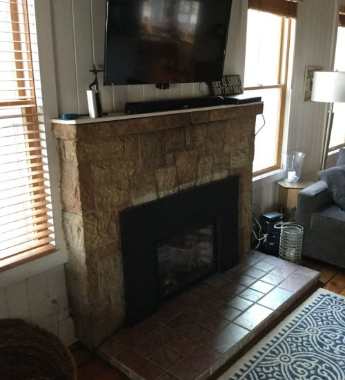 Rustic And Modern Fireplace: The Fireplace Guys
