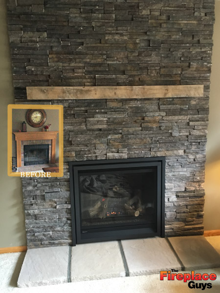 Out With The Old The Fireplace Guys
