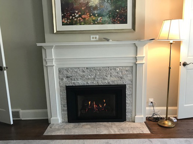 Edina Fireplace Conversion main