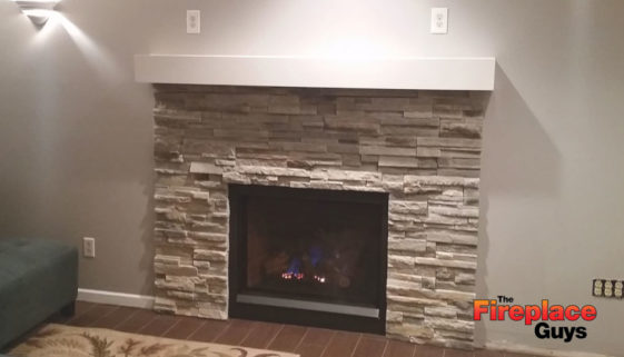 Lighten Up fireplace addition mn