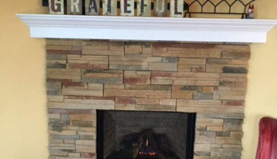 Simply Stone Fireplace