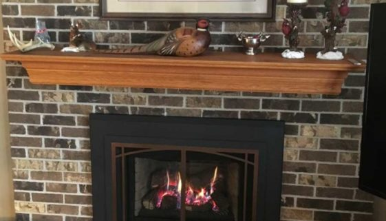 Tuscan-door-inlay-brick-fireplace-conversion-mn