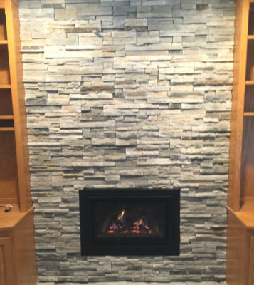 Woodbury Fireplace Insert After