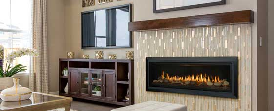 linear fireplace opt