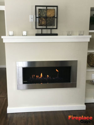 simply modern fireplace design mn